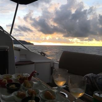 Bootstour zum Sonnenuntergang